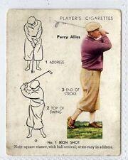 Players, Golf, #2 Percy Alliss No.1 Iron Shot 1939 (Gv899-446) G