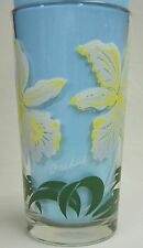 Orchid Peanut Butter Glass Glasses Drinking Kitchen Mauzy 75-1