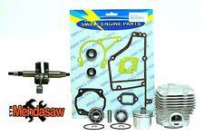 STIHL TS400 ENGINE REBUILD KIT,CYLINDER PISTON, CRANKSHAFT,BEARINGS,GASKET SET