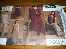 new  vogue 12-16 misses petite jacket,vest,top,dress,skirt,pants,2751