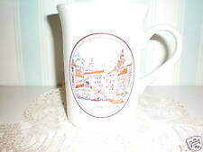 "Kilncraft Coloroll Mug ""Orange Capuccino"" England"