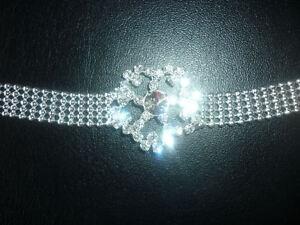 BRACCIALE DONNA ragazza FIORE gioiello Diamante braccialetto monile moda fashion