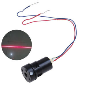 High brightness 635nm 5mW Red Laser Line Level Module Long time operatioH;ZF