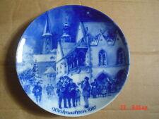 Berlin Design Germany Christmas Collectors Plate WEIHNACHTEN 1987
