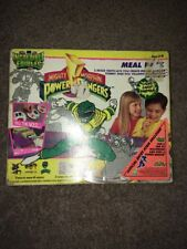 Power Rangers Incredible Edibles Meal Pack Green Ranger Mold Trays Vintage Toy