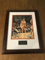 Toni Kuckoc Autographed 8x10 Photo with Frame and certificate of Authenticity