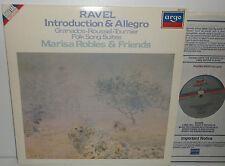 ZRDL 1008 Ravel Introduction & Allegro Granados Roussel Marisa Robles & Friends