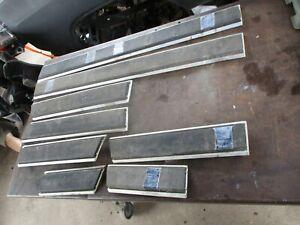81-93 DODGE RAMCHARGER LOWER SIDE BODY TRIM MOLDING COMPLETE SET OEM