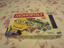 2013 MONOPOLY DESPICABLE ME  EDITION BOARD GAME BY HASBRO GAMES 100% COMPLETE