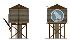 HO Scale Broadway Limited 6098 * Operating Water Tower, Great Northern