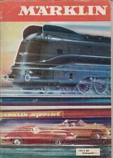 MARKLIN GAUGE HO & 1 MODEL RAILWAYS 1970 PRODUCT RANGE CATALOGUE (GERMAN TEXT)