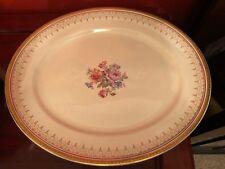 Beautiful Burleigh Ware Large Oval Platter Burgess & Leigh