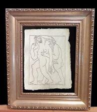 Pablo Picasso (After) Grabado Invitación Galeriacuatro Valencia 1980