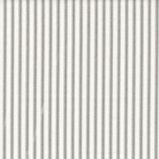Carolina Linens Tailored Bedskirt in Berlin Slate Gray Traditional Ticking