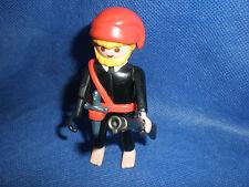 3794 Piraten Figur Pirat Hakenhand Messer Koppelgurt rote Mütze top