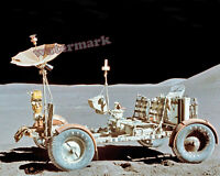 Photograph Lunar Roving Vehicle at its final resting place Year 1971 8x10