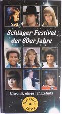 Schlager Festival der 80er Jahre und Buch
