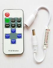 Control Remoto Inalámbrico DC12V 12A Interruptor Regulador Controlador Dimmer LED luz de tira rf