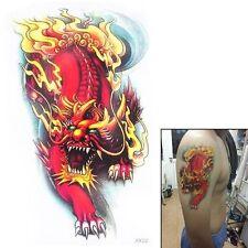 Flash Tattoo Fake Tattoo Einmal Tattoo China Drache 18x11cm wasserfest(AX22)