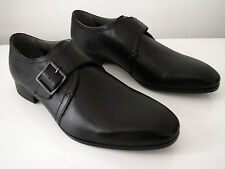 New Ted Baker Black leather buckle shoes UK 8 EUR 42 rrp £120