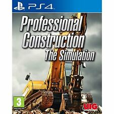 Professional Construction: The Simulation (PS4) NEW AND SEALED - QUICK DISPATCH