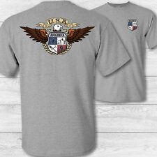 American Eagle oilfield Roughneck T shirt, USA patriotic oilfield drilling shirt