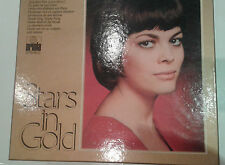 "Mireille Mathieu NEAR MINT Vinyl DOPPEL LP Album "" Stars in Gold"" m. POSTER"