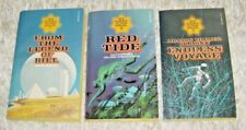 3 ACE Science Fiction Specials, Volumes 1,2,3. Science Fiction 1975 Paperbacks