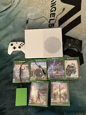 Microsoft Xbox One S 500GB Console Bundle with 2 Controllers 6 Games, 2TB Ex HD
