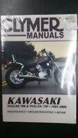 New Clymer Kawasaki Service Manual Vulcan 700 & Vulcan 750 1985-2006 M356-5