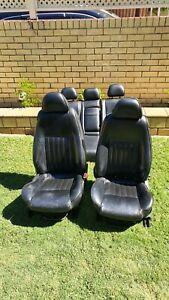 Alfa Romeo 147 Black Leather Seats