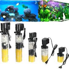 220V 1000-1800 L/H Submersible Water Filter Pump For Aquarium Fish Tank EU Plug