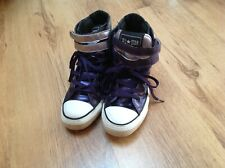 Converse All Star Boot Purple Size 4.5