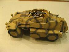 1/50 WW II German New Millenium 222 armored car plastic