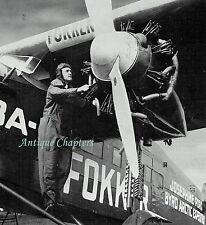 Commander Richard Evelyn Byrd Flight Over North Pole 1926 Photo Article A886