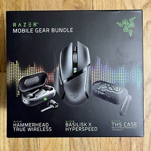 Razer Mobile Gear Bundle, 3 Piece Set New
