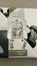 Primark Disney Minnie Mouse Mickey Mouse Single Duvet bedding Cover Bnwt