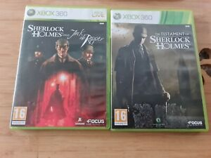 Xbox 360 Sherlock Homes Bundle The Testament And Versus Jack The Ripper