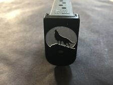 "Fit Glock ""3D"" Custom Magazine Base Plate 100% Aluminum G43 ""Wolf"""