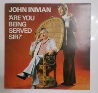 JOHN INMAN - ARE YOU BEING SERVED SIR? : NM/NM UK VINYL LP DJLPS.468