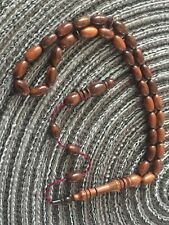 Yilan Agaci Tesbih  /Gebetskette /Natur/Rosary/Schlangen Holz /Rosenkranz