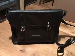 Mens Leather Satchel Bag