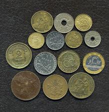 Lot de pièces de monnaies Française / 10 centimes de 1917 à 1996 / lot18
