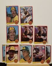 Pre-owned ~ 1983 Donruss San Diego Padres Baseball Cards (Templeton, Flannery ..