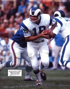 ROMAN GABRIEL Los Angeles Rams photo in action v Buffalo 1970 (c)