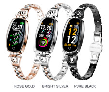 Fitness bracelet Women Smart Watch Heart Rate Monitor Diamond  for iOS Android