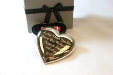 Engraved Heart in Gift Box Christening/Baptism/Goddaughter/Godchild/Naming Day