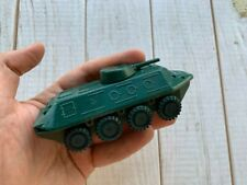 Rare Soviet Russian scale military metal model toy USSR tank BTR - 60