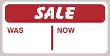 500 x vendita ERA ORA Autoadesivo pelabile | Rimovibile Adesivi Etichette cartellini dei prezzi