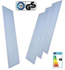 4x LED Panel 30cm x 120cm weiß 40W 4000LM 4000K Einbauleuchte Deckenlampe Slim